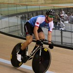 2014-07 Commonwealth Games Vincent warm up Team Sprint Day 1