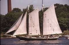 sail, sailboat, sailing ship, schooner, vehicle, mast, tall ship, watercraft, boat,