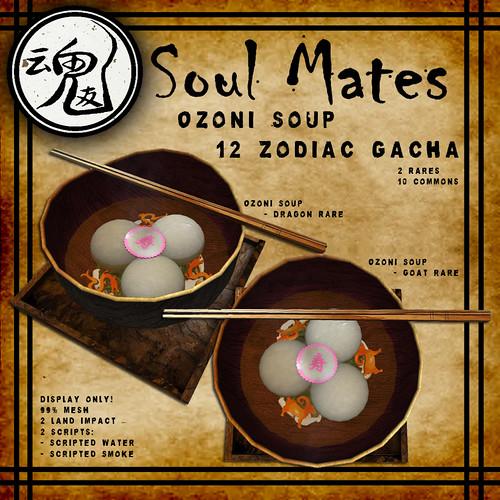 [Soul Mates] Ozoni Soup 12 Zodiac Gacha Ad