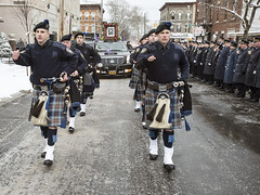 Officer Thomas Choi Funeral Processio