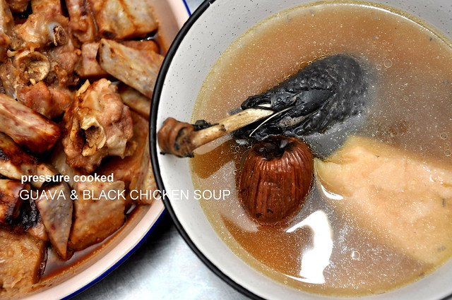 Philips Pressure Cooker Guava Soup with Black Chicken