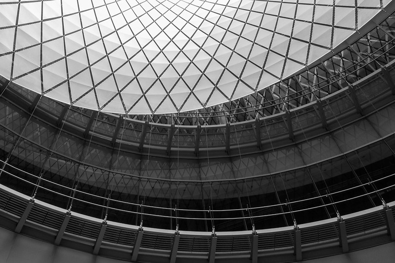 Fulton Center, base of rotunda