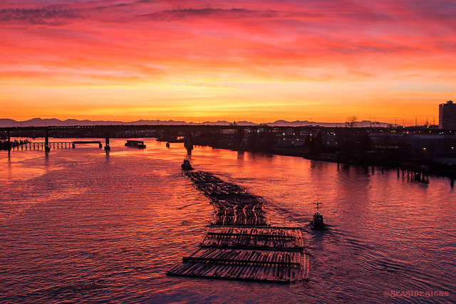 Sunset Boom ~ Vancouver, BC