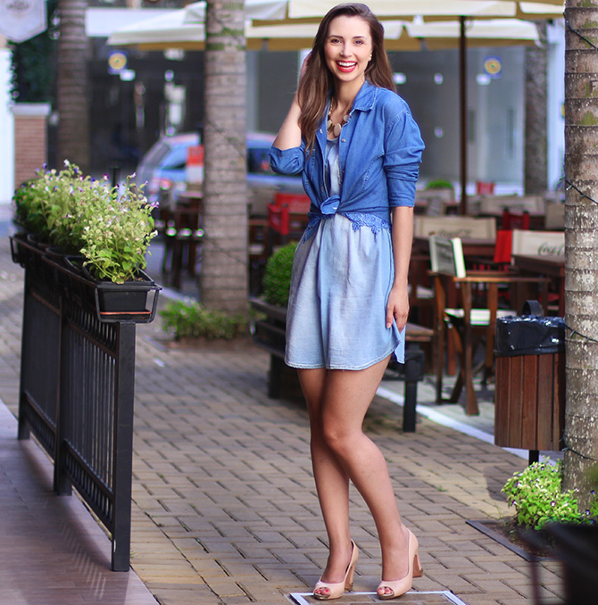 02-1 vestido jeans e 3 looks blog sempre glamour