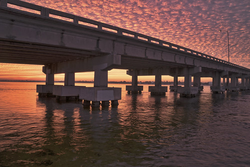 bridge clouds sunrise unitedstates florida things types palmetto locations landscapephotography manateecounty
