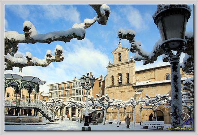 6 Primera nevada en Briviesca 2015