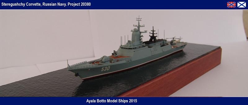 Corvette Russe Steregushchy 530, Project 20380 - Gwylan Models / Combrig 1/700 16437427170_bda9b13a85_b