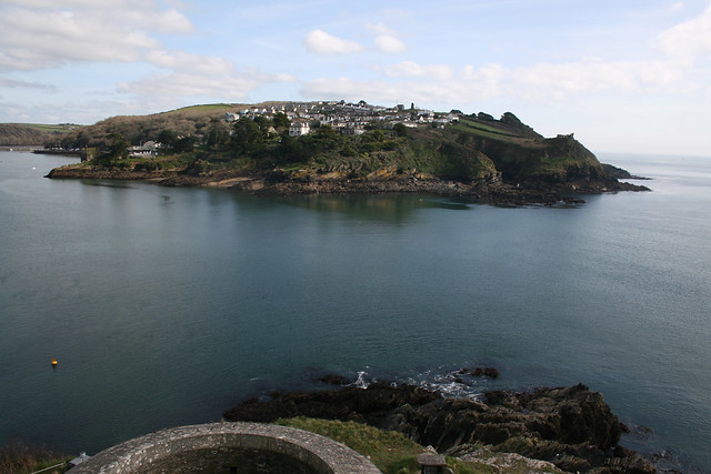 View from St Catherines Castle, Fowey