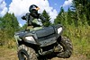 Offroading by 4×4 ATV in the Kootenay Rockies, British Columbia, Canada.