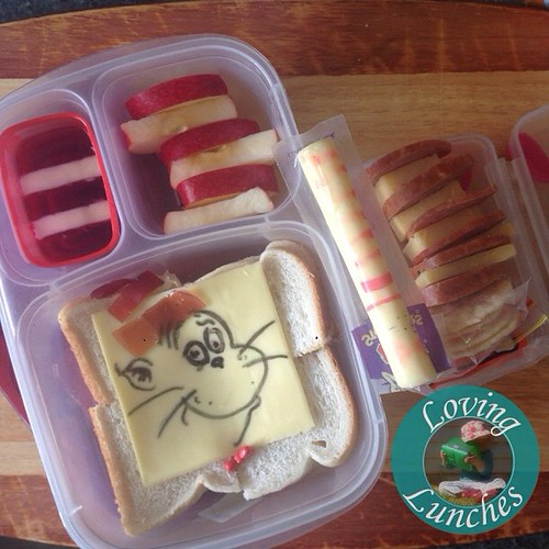 Loving a little #Seuss -ical fun in our @easylunchboxes for tomorrow… Happy Birthday!