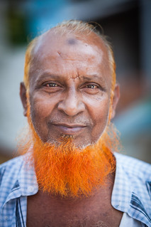 The orange bearded man