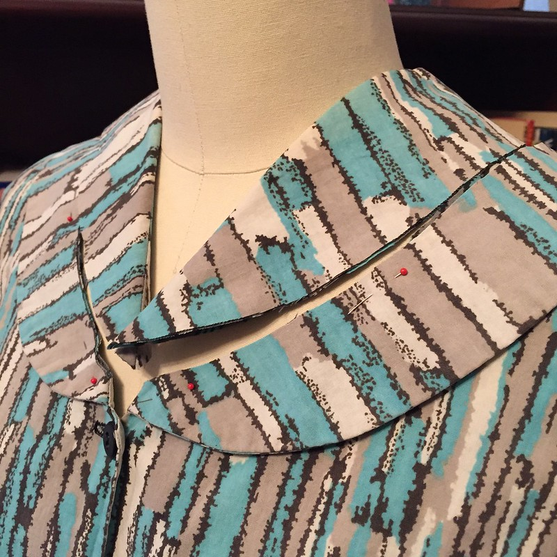 Vintage Dress Revival - In Progress