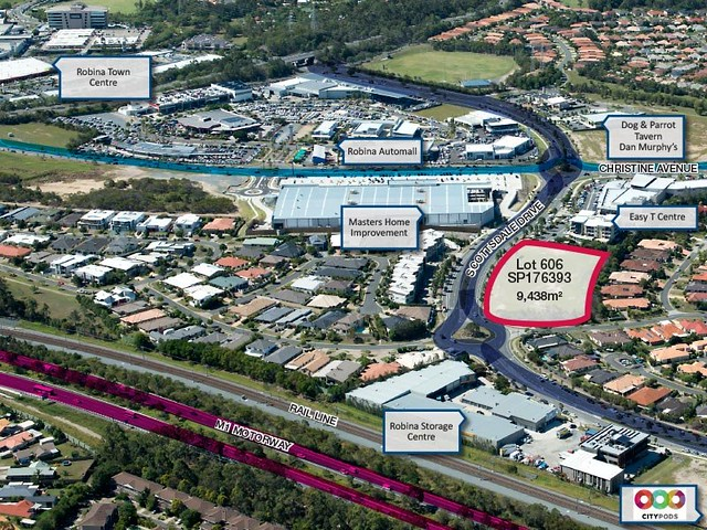 A Masters store could be part of a mixed use development in Robina (QLD)