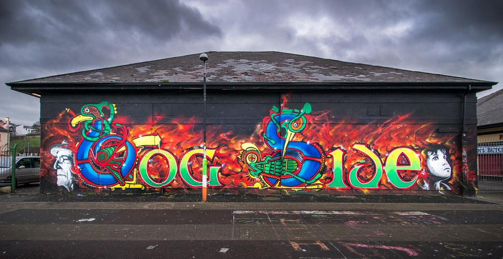 BogSide, Derry, Northern Ireland picture