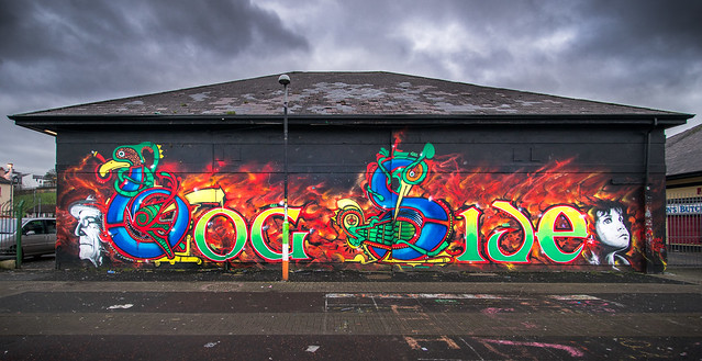 BogSide, Derry, Northern Ireland