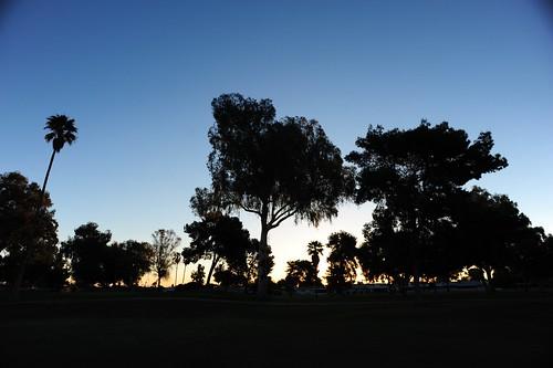 city arizona usa sun sunrise golf course