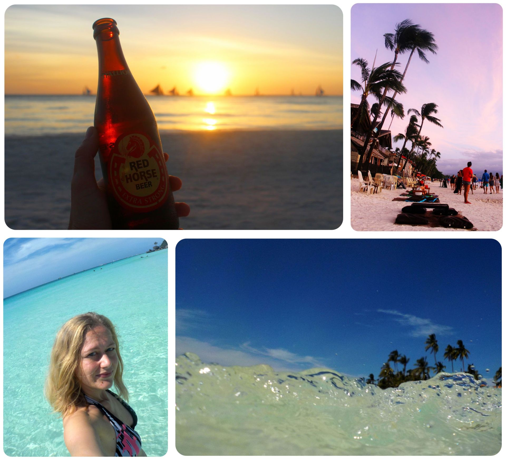 Boracay collage