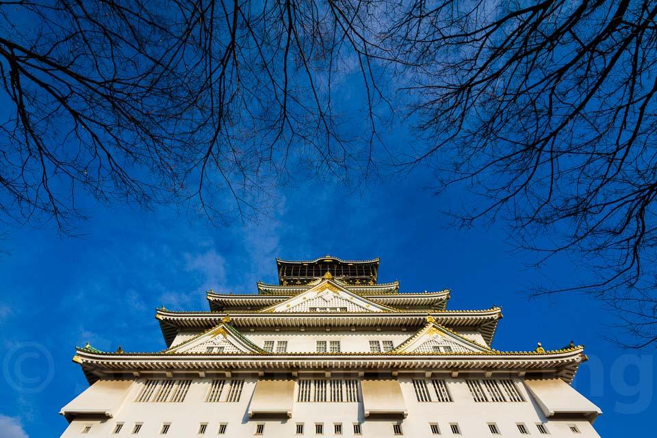 Osaka Castle @ Osaka, Japan