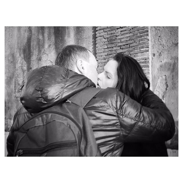 Italian passion | Urban scene around Rome... Good afternoon! #ARTmobile . IPhone 6  #Hipstamatic (#Jane + #BlacKeySuperGrain) #Snapseed