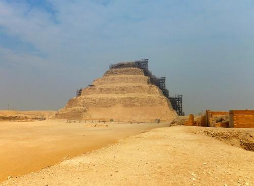 King Djoser's Step Pyramid, Saqqara, Egypt 2015