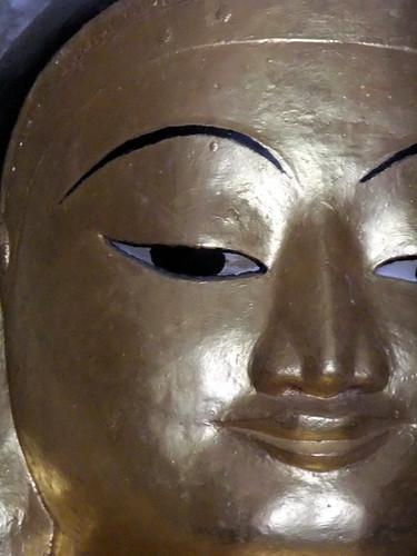 Bagan's Manuha Temple: Giant Gold Buddha
