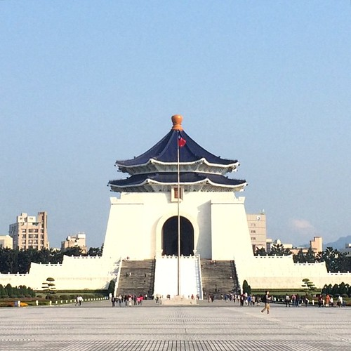 Chiang Kai-Shek Memorial Plaza. One of my favorite places on this earth. #landmarked
