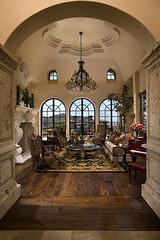 Italian Villa Family Room