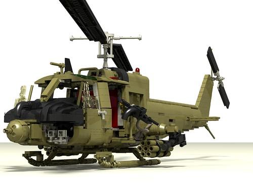 UH-1C Huey Hog front left