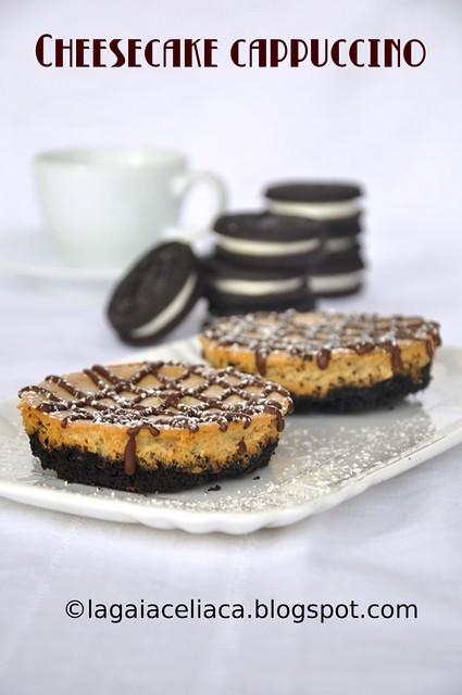 Gluten free cappuccino cheesecake