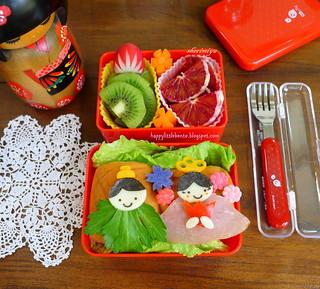 Hinamatsuri Girls' Day Bento!