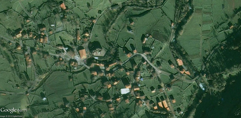 antes, urbanismo, foto aérea, desastre, urbanístico, planeamiento, urbano, construcción,Arredondo, Cantabria