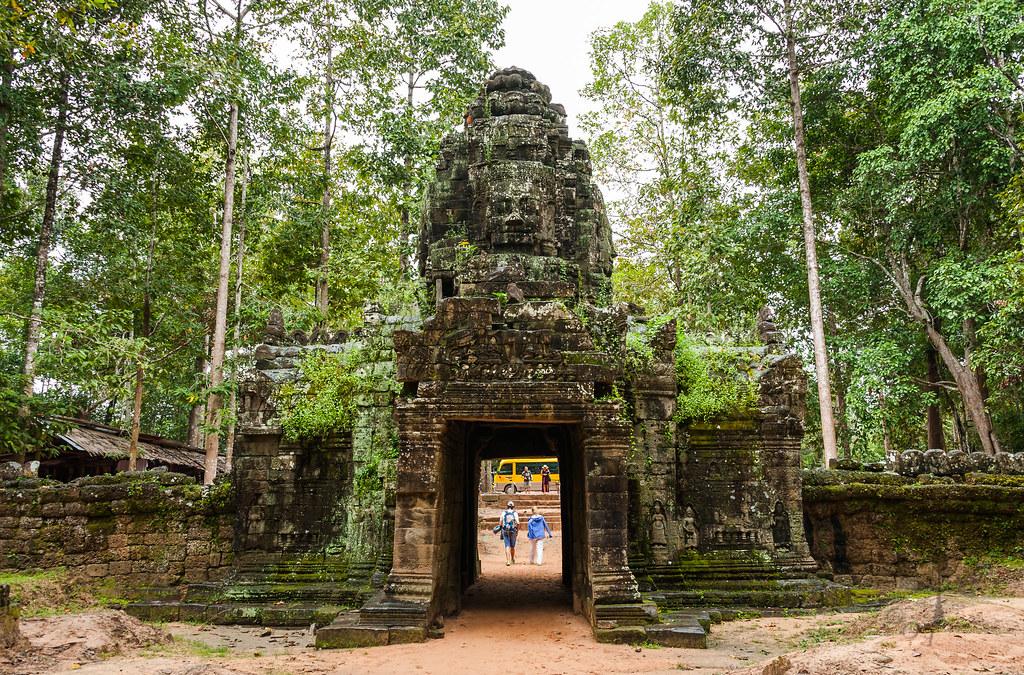 Gate to Ta Som