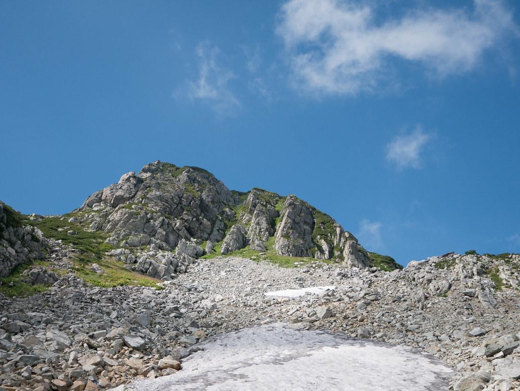立山の万年雪