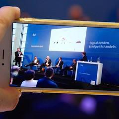 Man hört, sieht und streamt sich beim Forum Handwerk Digital #fhd16 #rifa2016 http://www.forum-handwerk-digital.de/programm.html