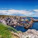 rocky coastline of bonavista by -liyen-