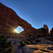 Sunrise at the South Window - Arches National Park