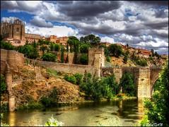 Puente de San Martín, siglo XI, Toledo