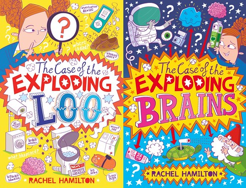 Rachel Hamilton book covers