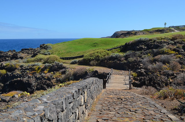 Coastal path, Buenavista golf, Tenerife