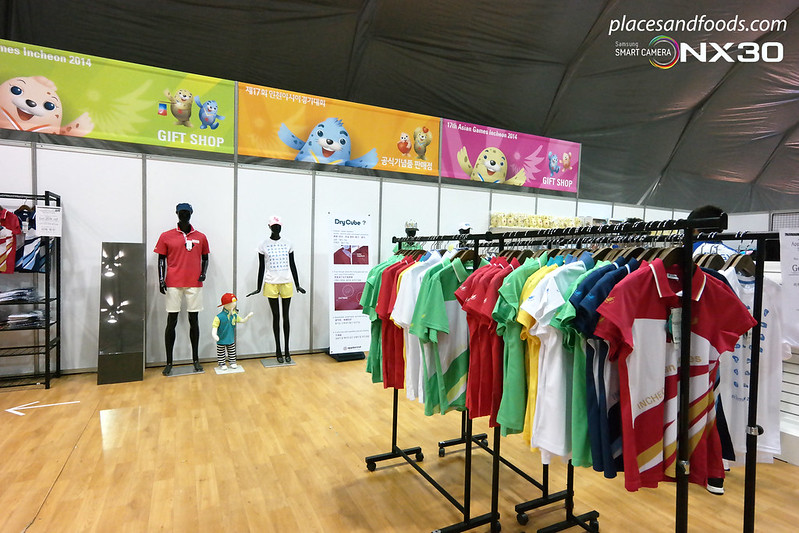 samsung incheon athletes village gift shop