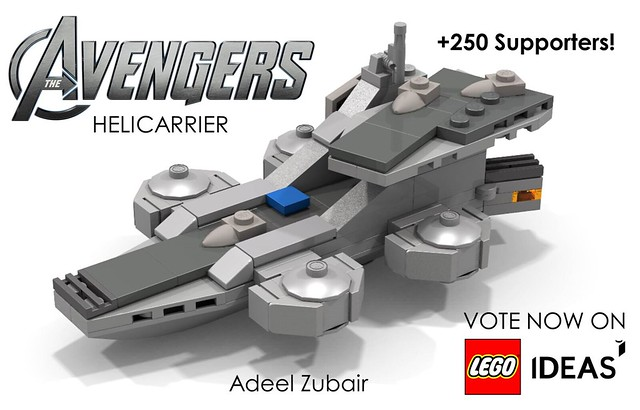 LEGO Avengers - Helicarrier (Update 250 Supporters!)
