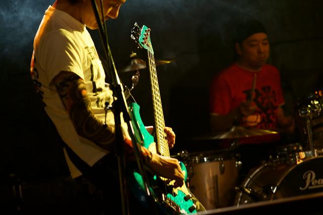 FLEA live at Outbreak, Tokyo, 18 Jan 2015. 060