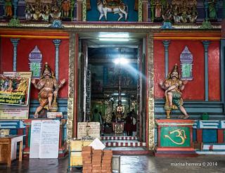 Peninsula Jaffna. Naguleswaram Shiva Kovil.