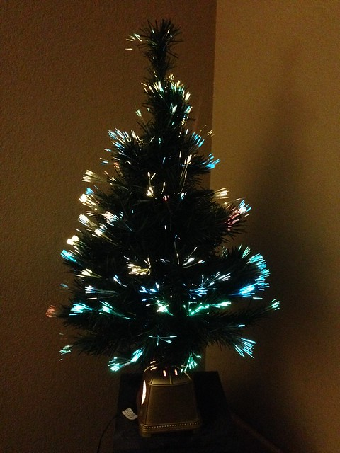 Little Glowing Christmas Tree