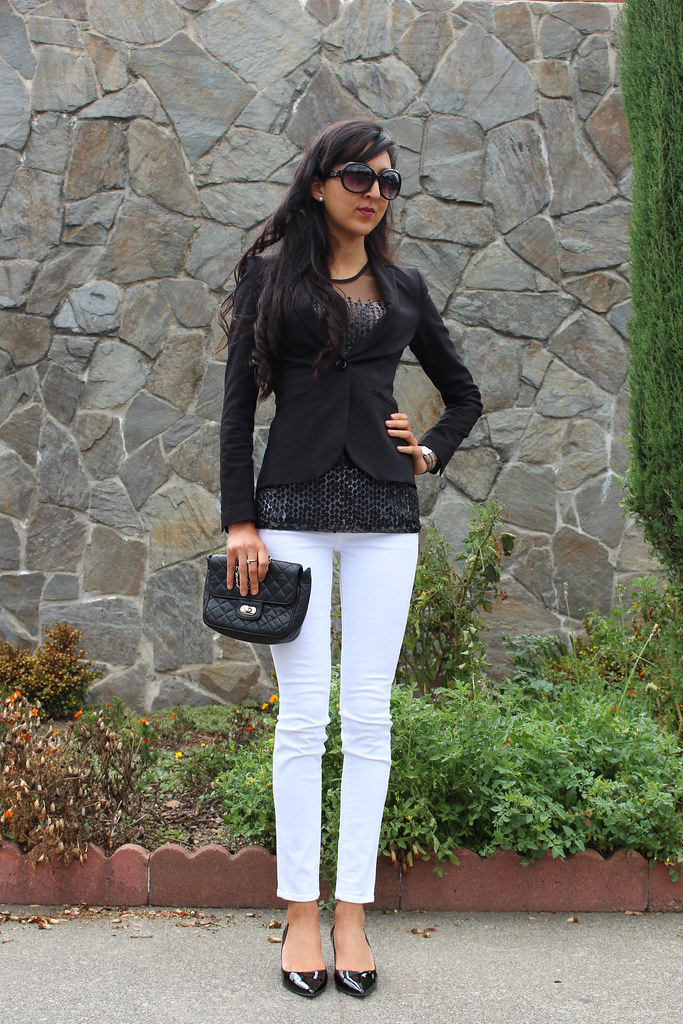 Black, white, Sequins (Wear to Work) 3