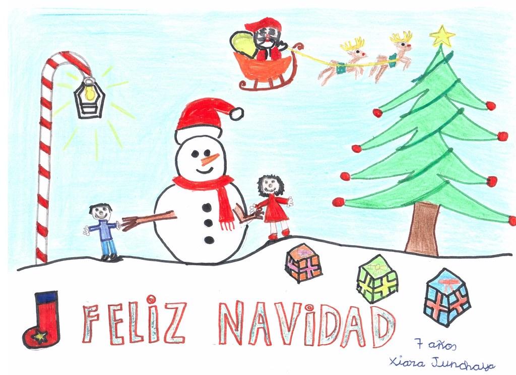 Dibujos para colorear para ni os de 9 a 10 a os ideas for Dibujos postales navidad ninos