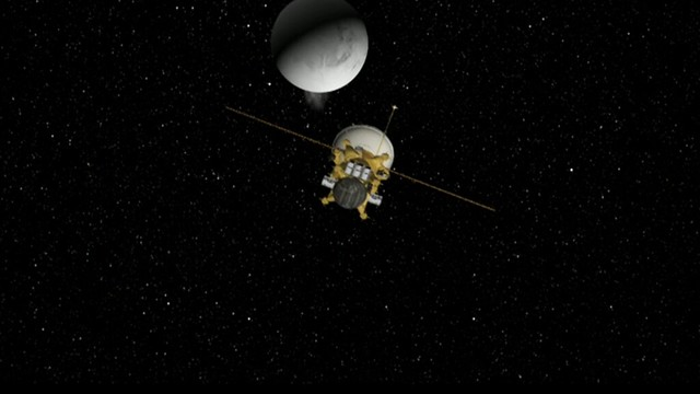 Enceladus geysers