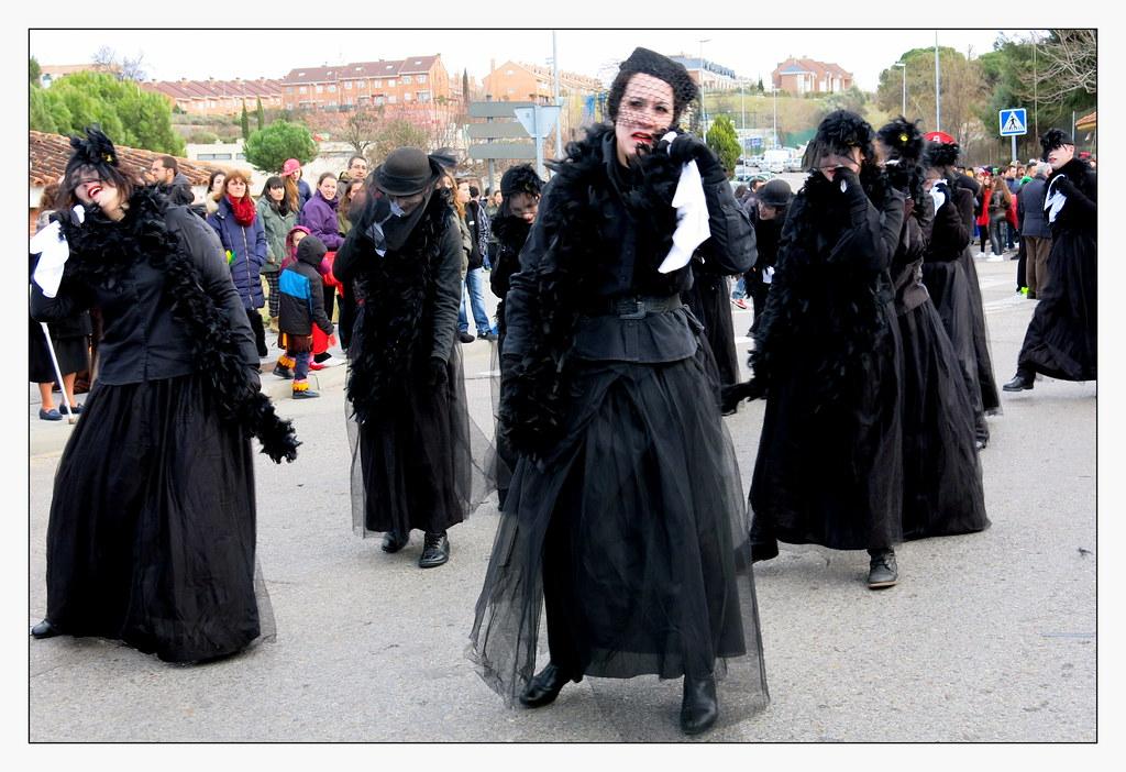 Carnaval de Valdemoro: plañieras