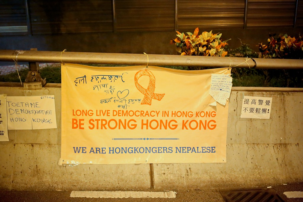 Umbrella movement - 0924