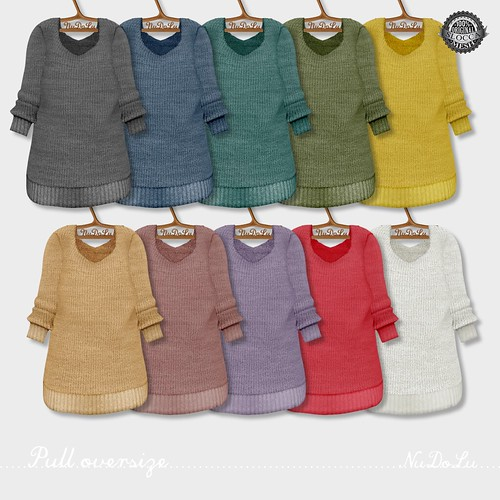 NuDoLu Pull oversize all colors AD